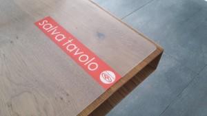 copritavolo tavolo legno
