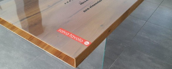 Tavoli in cristallo archives tavoli e parquet protezioni - Tappeti trasparenti per parquet ...
